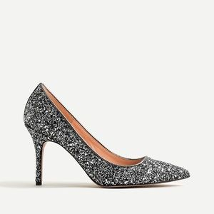 NEW J.Crew Elsie Pumps Glitter